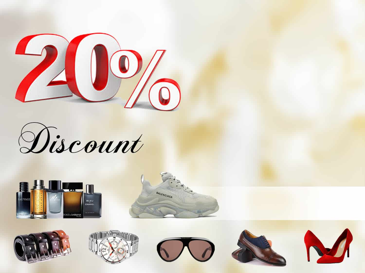 -20% DISCOUNT